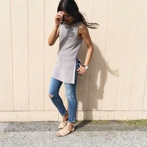 Wilfred Palmier sleeveless top